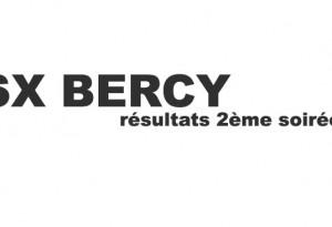 SX BERCY: Résultats de samedi
