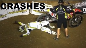 VIDEO: SX U.S 2012 crashes !