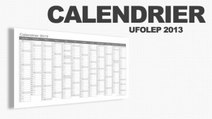 CALENDRIER UFOLEP 2013