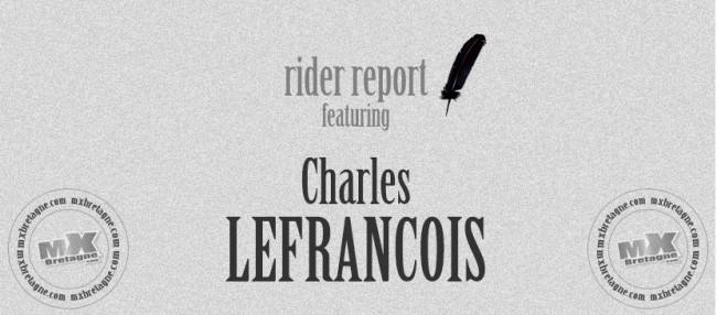 RIDER REPORT: Charles LEFRANCOIS – Romagné