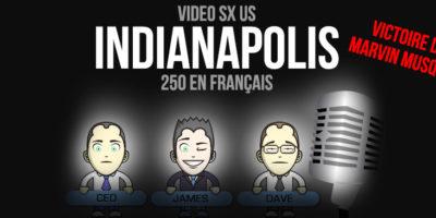 VIDÉO: Indianapolis Finale 250 en Français HD