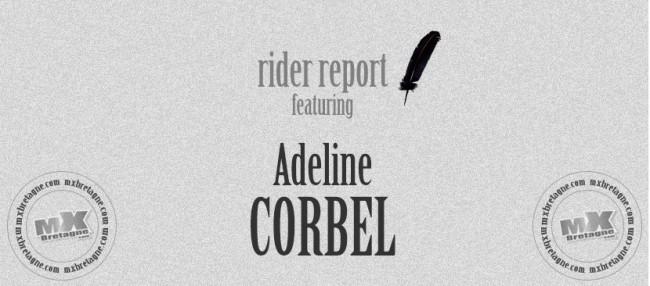 RIDER REPORT: Adeline CORBEL – MXF – Fublaines