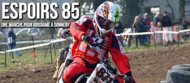ESPOIRS 85cc: Une manche pour Boisramé à Donnery !