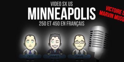 VIDÉO: Finale 250 Minnéapolis en Français