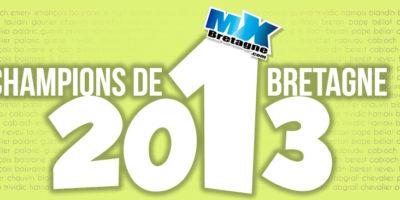 CHAMPIONS DE BRETAGNE 2013: La liste