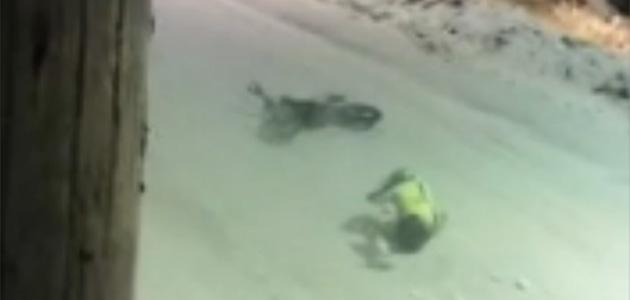 VIDEO: Le crash de Maxime Emery à Lans-en-Vercors
