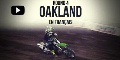 VIDÉO: La Finale SX US 450 d'Oakland en Français