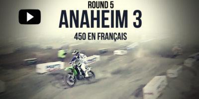 VIDEO: La finale 450 du Supercross d'Anaheim 3 en français
