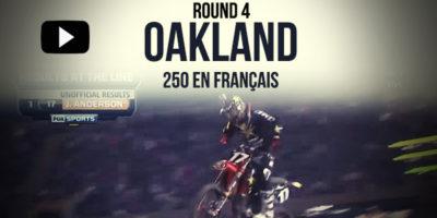 VIDÉO: La finale 250 du Supercross d'Oakland en Français