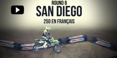 VIDEO: La finale 250 du Supercross de San Diego en français
