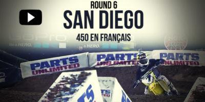 VIDEO: La finale 450 du Supercross de San Diego en français