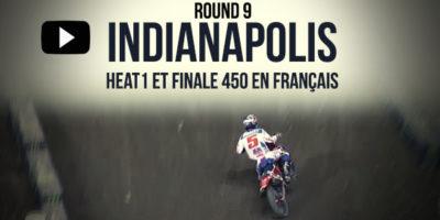 VIDÉO: La finale 450 du Supercross d'Indianapolis en français | Rd9