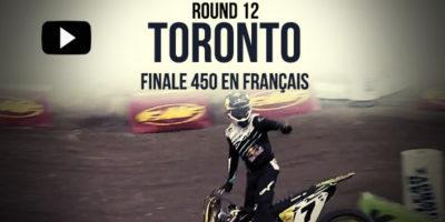 VIDEO: La finale 450 du Supercross de Toronto | Rd12