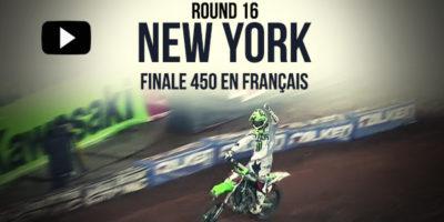 VIDEO: La finale 450 du Supercross de New York en français