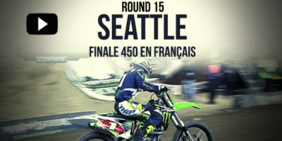 VIDEO: La finale 450 du Supercross de Seattle en Français | Rd15