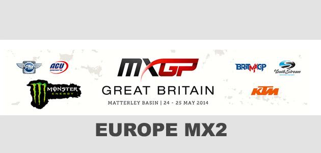 EUROPE MX2 : Théo Roptin en Grande-Bretagne