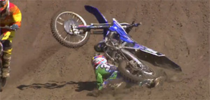 David Herbreteau Crash Lommel 2014