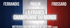 NATIONS 2014: LA FRANCE CHAMPIONNE DU MONDE