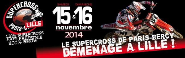 COMMUNIQUÉ: SX PARIS LILLE 2014