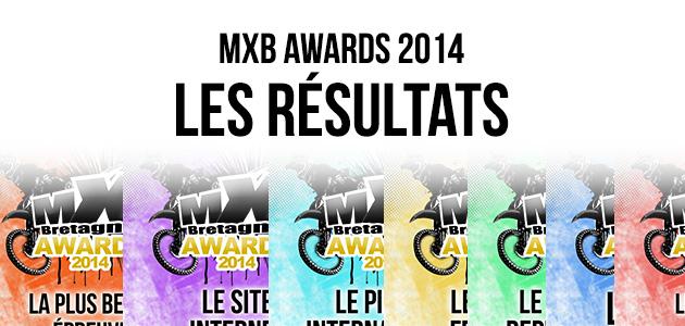 MXB AWARDS 2014: Les résultats