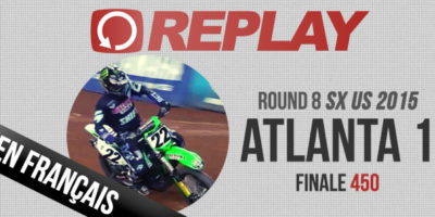 REPLAY 2015: SX US Finale 450 Atlanta Rd8