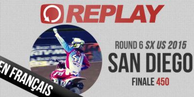REPLAY: La finale 450 de San Diego