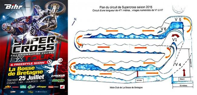 COMMUNIQUÉ: Supercross La Bosse de Bretagne
