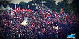MXDN 2015: La Marseillaise chantée par 40 000 personnes