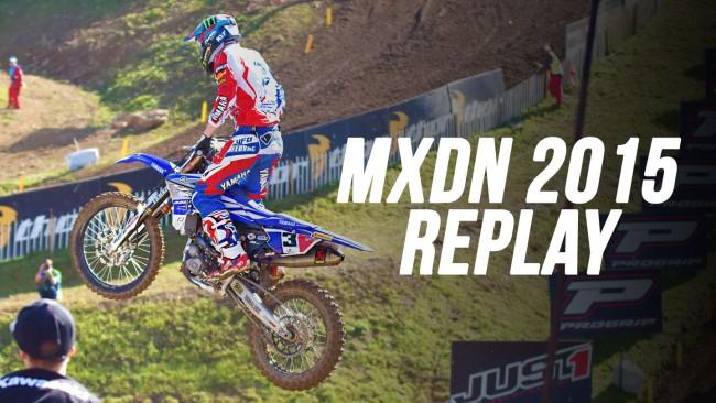 MXDN 2015: Le replay des courses complètes