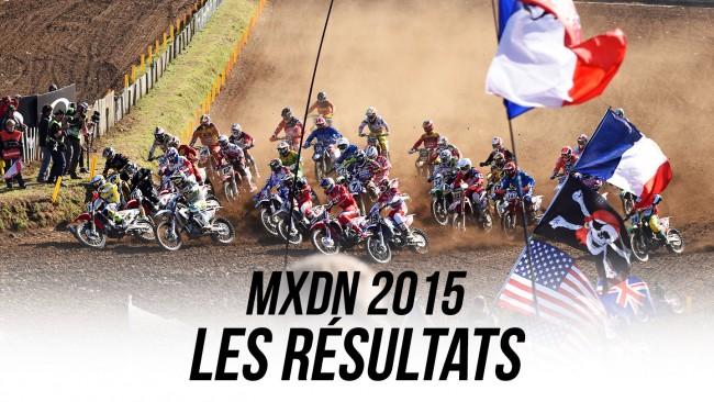 MXDN 2015: Les résultats