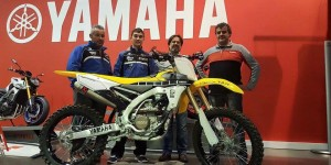 Mathys Boisramé officiel Yamaha Europe en 2016