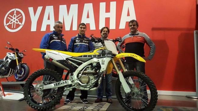 Mathys Boisramé officiel Yamaha Europe en 2016