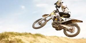 Christophe Pourcel testing Supercross 2016