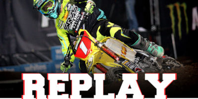 REPLAY: Arenacross Manchester 2016