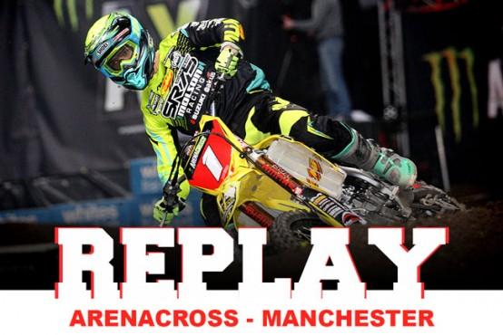REPLAY: Arenacross Manchester 2016