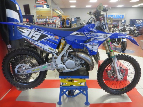 MOTO DU JOUR: Yamaha 125 «MJC» 2016