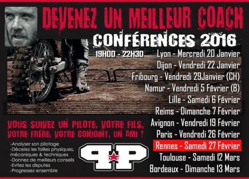 Conférence Coach MX avec Pierrick Paget à Rennes (MAJ adresse)