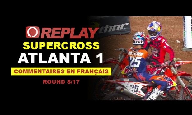REPLAY SX US 2016: Atlanta 1 en français