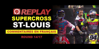 REPLAY SX US 2016: St-Louis en Français