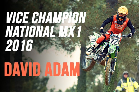 NATIONAL MX1: Adam vice-champion 2016