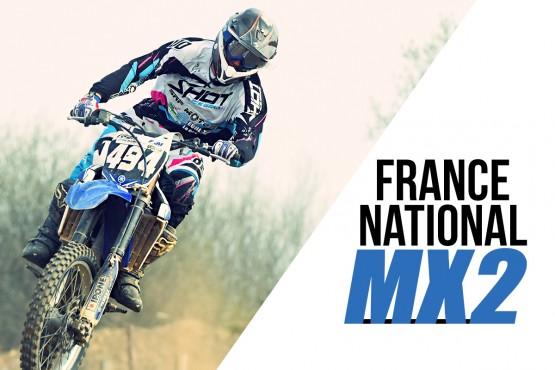 NAT MX2 2016: Les résultats de Frotey les Vesoul