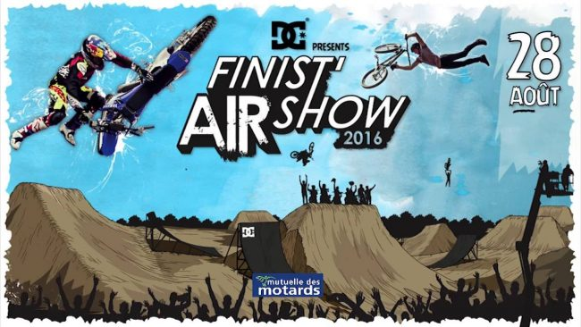 FINIST'AIR SHOW '16 (riders, horaires, tarifs, teaser)
