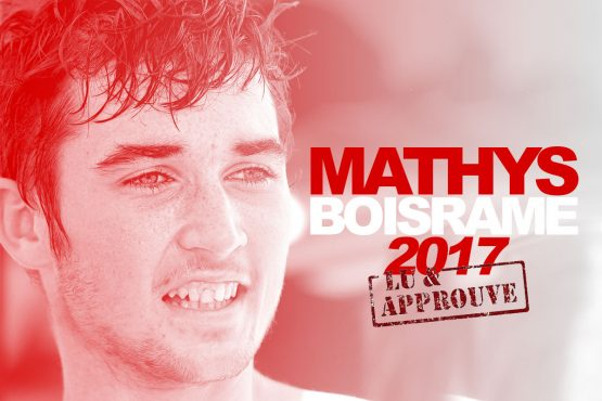 Mathys Boisramé passe en rouge !