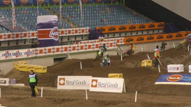 Superfinal Supercross Arnhem 2016 avec Febvre et Gajser