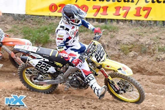 NATIONAL MX1 '17: Lefrançois leader à Glénac !