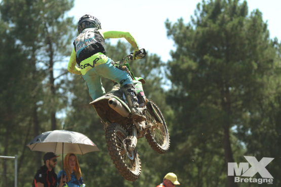 NATIONAL MX2: Doré sur le podium final