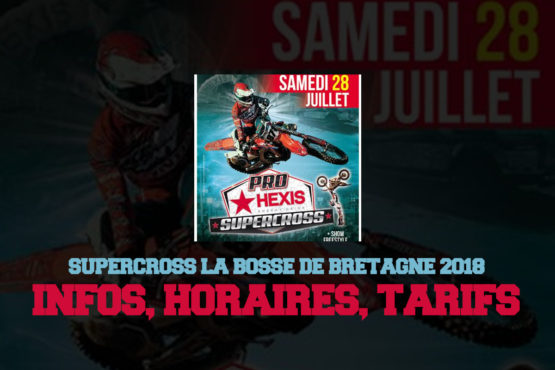 SUPERCROSS PRO HEXIS 2018: LA BOSSE VOUS ATTEND !