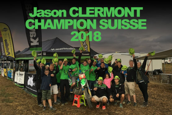 JASON CLERMONT CHAMPION SUISSE MOTOCROSS 2018