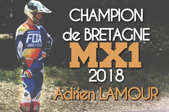 ADRIEN LAMOUR CHAMPION DE BRETAGNE MX1