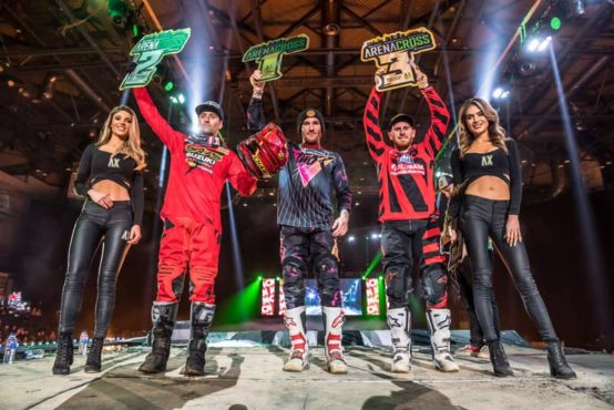 ARENACROSS UK 19: Charles Lefrançois vice champion !